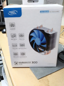 DEEPCOOL GAMMAXX 300 CPU Cooling Fan 3 Heatpipes 120mm PWM Fan I