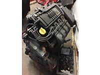 Renault Clio 1.2 engine mk2 complete