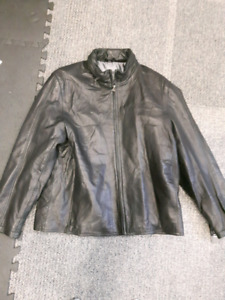 Men's Leather Jacket XL