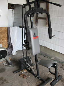 Weider 74090 exercise equipment Height: 75 in.Width: 31 in.