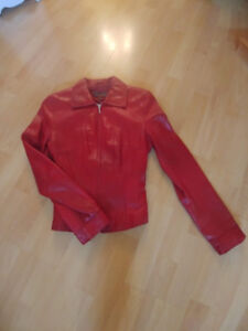 Ladies Leather DANIER Jacket - Petite size 4
