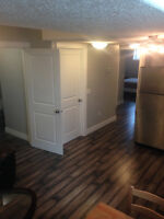 New, Fully Furnished 2 Bedroom Legal Suite