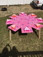 8 PLAYER BEER PONG TABLE