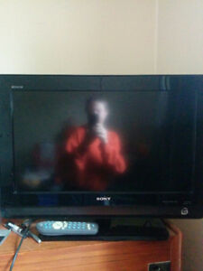 Sony Bravia 26 inch 1080p HD flat screen TV. HDMI+