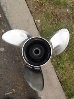 """OMC 23"""" 14.5 stainless prop"""