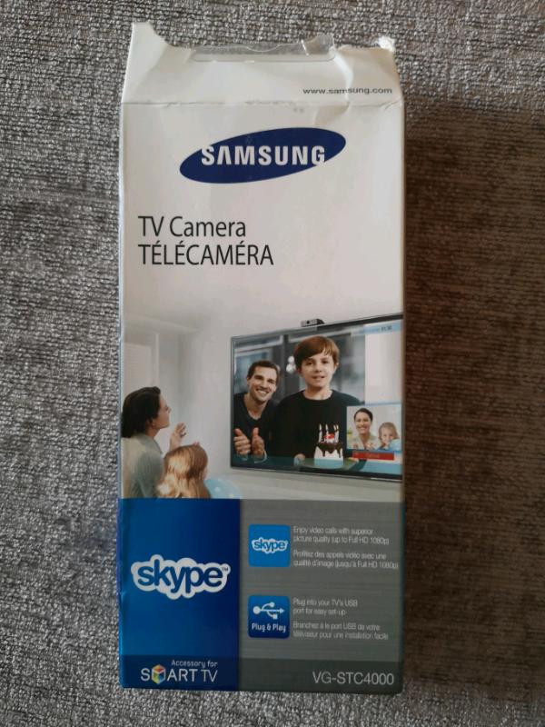 Samsung VG-STC4000 TV Camera Skype webcam USB For Samsung TV   in  Wimbledon, London   Gumtree