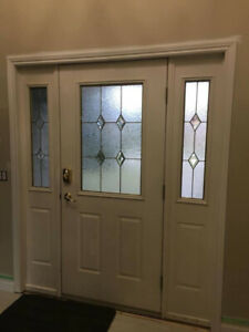 Front Door with 2 sidelights