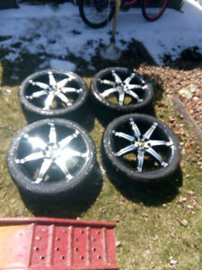 4 - 17 inch tires