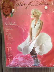 Halloween Costume Marilyn Munroe Dress Size Small