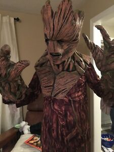 Previously Used Licensed Groot Costume