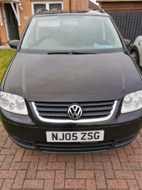 2005 VW Touran can also be used as van or camper