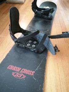 Snowboard + Bindings