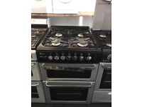 FLAVEL 60CM ALL GAS COOKER IN SILIVER.