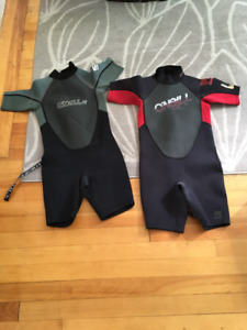 Children's O'Neil Wetsuits- each Size 8