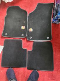 Abarth car mats