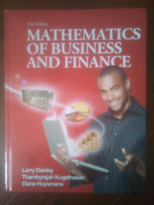 Mathematics of Business and Finance. First ed