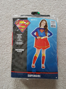 Supergirl, super woman, wonder woman costume for girl