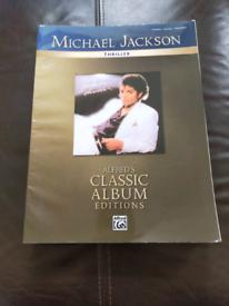 Michael Jackson Thriller Piano Vocal Guitar Chords Sheet Music