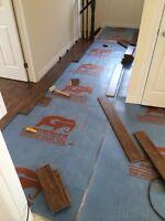 Flooring installer here for your needs.