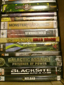 64 New & Sealed PC Games