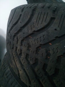 Goodyear Nordic hiver/winter tires 185 70 14 West Island Greater Montréal image 3