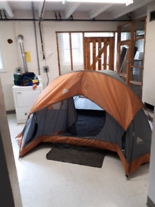 5 person Ozark Trail tent with rain fly.