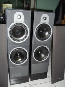 B&W model DM 630  speaker pair