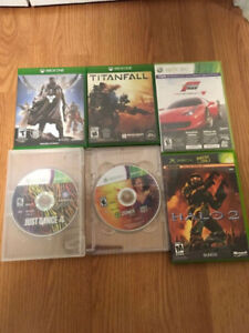 Microsoft Xbox One & 360 games - Various Prices