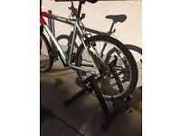 Bike cycle turbo trainer and bike