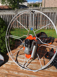PPG Nirvana Rodeo - paramotor - manufactured 2015 - 40 hours