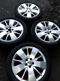 """17"""" Rover 75 alloy wheels Toyota Celica, Subaru, VW Polo, Ibiza (299)"""