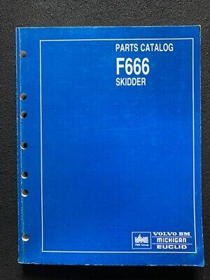 Volvo Bm F666 Log Skidder Parts Catalog - Pub 6610