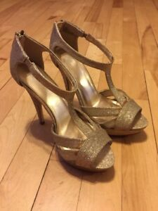 Prom High Heel Shoes (size 8)
