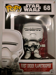 POP Star Wars 68 First Order Flametrooper Vinyl Bobble-Head