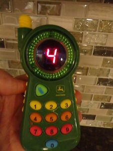 12 Pc.Kids Toy Set - A Cool John Deere Pretend Cell Phone & More Kitchener / Waterloo Kitchener Area image 7