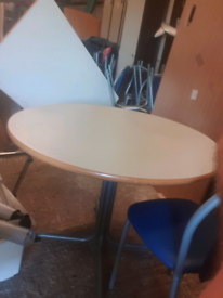 Cafe table with 4 matching chairs