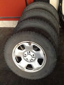 TIRES AND RIMS - HONDA RIDGELINE