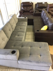 Recliner Chairs to L-Shape Sectionals*