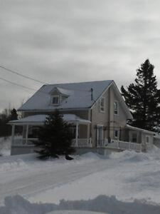 Maison à louer près de la cimenterie McInnis