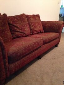 3 seater sofa, gillies of perth