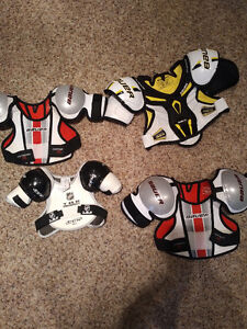 Bauer Shoulder Pads.
