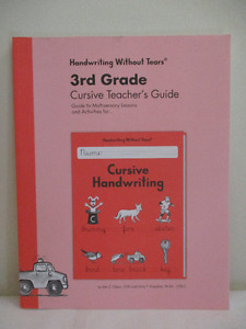 Handwriting Without Tears 3rd Grade Teacher Guide - New
