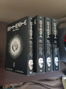 Death note black edition 4 books