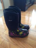 Bogs winter boots - girl youth size 1
