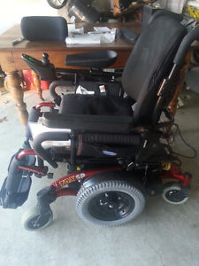 Invacare Electric Wheelchair and Ramp, Like New