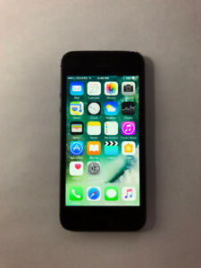 UNLOCKED Black 64GB iPhone 5 (A- Condition) + iOS10