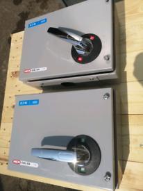 Eaton MEM 63A TPN Exel 2 Switch Disconnector fuse box isolator