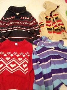 Sweaters size 4