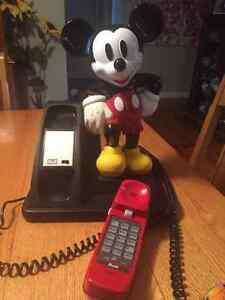 Mickey Mouse Telephone Kingston Kingston Area image 2