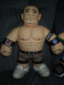 WWE PLUSH STUFFED WRESTLING BUDDIES Kitchener / Waterloo Kitchener Area image 3